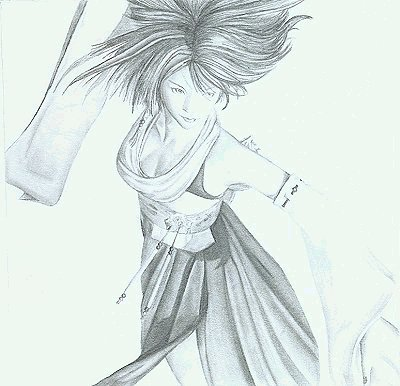 The second Yuna drawing.