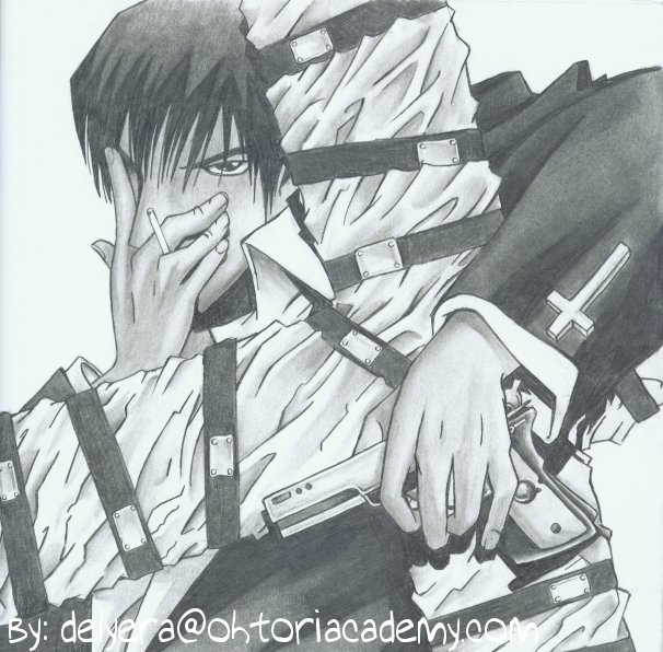 Wolfwood from TRIGUN